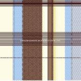 100%Polyester Retro Afgedrukte Stof van de Lijn Pigment&Disperse voor de Reeks van het Beddegoed
