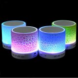 Altavoz colorido sin hilos portable popular A9 del LED Bluetooth
