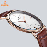 Madame en cuir en gros Special Designer Brand Watch 71258 de bracelet de montre