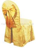 Cubierta caliente de la silla de Chiavari del poliester de las ondas de las ventas para la boda