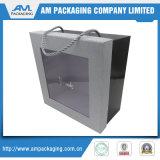 caselle di trasporto su ordinazione impaccanti del cartone con il contenitore libero di plastica di biscotti della finestra