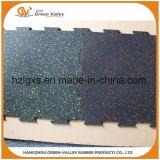 Циновки плиток настила Ce Approved резиновый резиновый для сверхмощной области