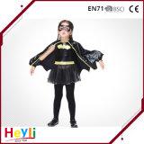 Vestido extravagante da venda quente do terno do bastão de Halloween do traje de Cosplay dos miúdos