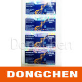 Etiqueta quente do tubo de ensaio do holograma 10ml de Anadrol 75mg Pharmaceutial da venda
