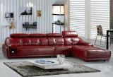 Софа /Leather европейской мебели комнаты типа живущий неподдельная (HX-F003)