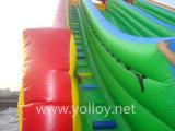 Diapositivas inflables del carril doble comercial para la venta