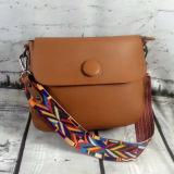 Bolsa pequena dos sacos de ombro do desenhador dos fabricantes de China com cinta colorida Sy7783