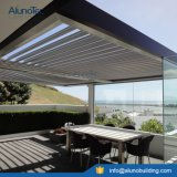 자동화된 알루미늄 지붕 일요일 Shading 미늘창