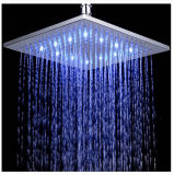 testa di acquazzone quadrata di 200mm/300mm LED con energia idroelettrica