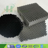 Kleines Zellengröße-Aluminiumwabenkern-Baumaterial feuerfestes Faç Ade