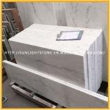 フロアーリング/壁のための安い中国磨かれたGuanxi/Biancoの白い大理石の石造りの床タイル