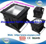 Luz de inundação quente do diodo emissor de luz da iluminação 1000W do Sell de Yaye 18/do estádio de futebol preço do competidor para uso ao ar livre/interno