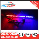 Blinkendes Licht des Verkehrs-LED mit Absaugung höhlt Halter