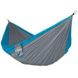 Het Kamperen van het gemakkelijk-gebruik het Nylon Bed van de Hangmat van het Kamp