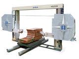 Sierra de alambre de diamante CNC para procesamiento de bloques de piedra
