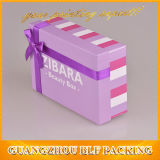 Caixa de presente luxuosa do papel da venda por atacado do preço de fábrica do estilo da caixa extravagante para vestidos