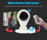 かわいいデザインのスマートなホームシステムのWiFiの小さいカメラ