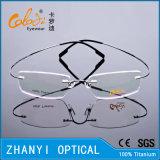 Blocco per grafici di titanio senza orlo leggero di vetro ottici di Eyewear del monocolo con Hyperelastic (8503-C1)