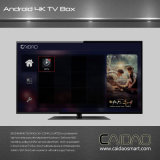 Androïde 16.1 du WiFi HDMI de faisceau d'Amlogic S912 Octa de cadre de TV 6.0 3GB/16/32GB
