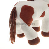 Het populaire Dier van het Beeldverhaal van de Pluche van het Stuk speelgoed bevlekte het Gevulde Paard van de Pluche