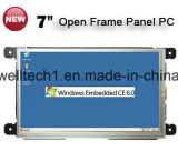 7 polegadas Embedded Industrial All in One PC sem moldura