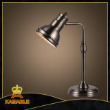 Eisen-industrielle Weinlese-Tisch-Lampe für Hotel-Innenministerium (KMBS9097)