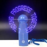 로고를 가진 최신 인기 상품 LED 메시지 승진 선물 소형 팬은 인쇄했다 (3509)