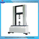 Máquina de prueba universal de la deformación de la fuerza extensible del motor servo de la vertical para el caucho