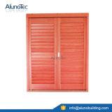 Obturateur en bois contrôlable personnalisé pour le guichet et la porte