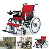 Silla de ruedas plegable eléctrico para personas de movilidad reducida