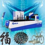 Máquina de estaca do laser do cabo ótico da fibra do CNC para metais