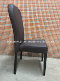 Tipo cadeira de jantar de couro confortável da sala de jantar da mobília (JY-F86)