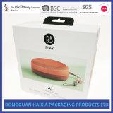 Твердая коробка подарка картона для дикторов Bluetooth упаковывая коробку