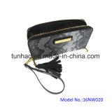 Бумажник повелительниц способа PU высокого качества муфты Wristlet кожаный