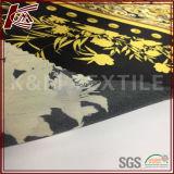 Tela impressa do estilo 16mm Charmeuse cetim de seda puro macio