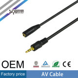 Sipuの工場価格OEM 3.5mm AVケーブル可聴周波RCAケーブル
