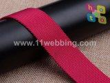 Webbing de nylon do poliéster do Twill da boa qualidade para acessórios do saco
