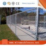 Belüftung-überzogenes Kettenlink-Zaun-Ineinander greifen
