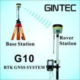 Slimme & Kleine Intelligente GPS Rtk Onderzoekende G10 van het Systeem met het Onderzoek van de Schuine stand van 30 Graad & e-Bel Kaliberbepaling