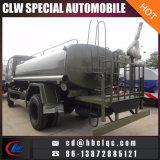 O transporte militar da água de Dongfeng 8cbm 10kub polvilha o caminhão de tanque