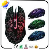 PC Ex8 Büro-Geschäfts-Tischplattennotizbuch USB-Kabel-Glühen-Maus