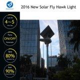 2017 neuestes intelligentes LED Solarstraßen-Garten-Licht mit Fernsteuerungs