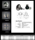 luz de la cubierta de 12V 2W IP67 LED con el certificado del Ce