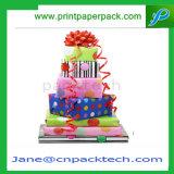 Коробка подарка венчания коробки бумаги упаковки картона конфеты благосклонности упаковывая