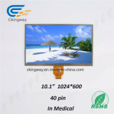 Luz de fundo RoHS Monitor LCD TFT de 10,1 polegadas Personalizar exibição de tamanho