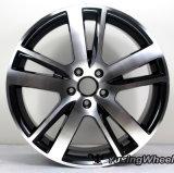 Алюминий снабжает ободком колесо сплава для Audi