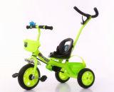 安い子供の三輪車は押し棒が付いているTrikeの赤ん坊の三輪車をからかう