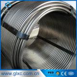 Le meilleur fournisseur 304 de la Chine des prix a soudé le tube de pipe de bobine d'acier inoxydable Od9.5mm x Wt0.5mm pour l'échangeur de chaleur