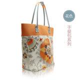 ハンドバッグのレディースコレクションのためのクールな印刷された花デザイン