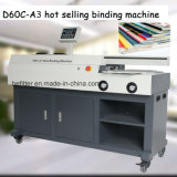 D60C-A3 venta caliente máquina de encuadernación